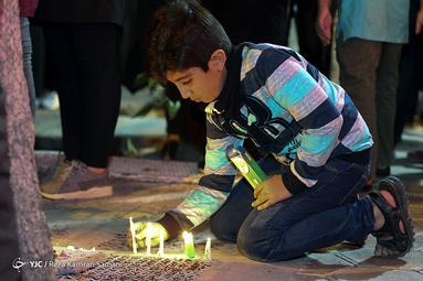شام غریبان حسینی در شهر سامان