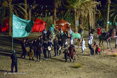 همایش شیون عرشیان در شام غریبان حسینی در کرمان