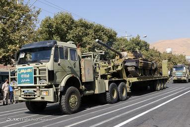 مراسم رژه نیروهای مسلح در شیراز