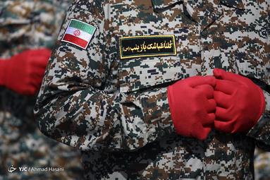 مراسم رژه نیروهای مسلح در مشهد