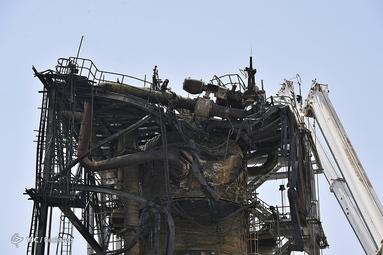 خسارات وارد شده به تاسیسات آرامکو