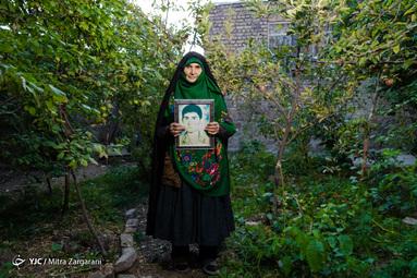 مادران بهشتی/ سیده عادله رضوی مادر شهید سید محمد حسینی و همسر شهید سید علی اصغر حسینی