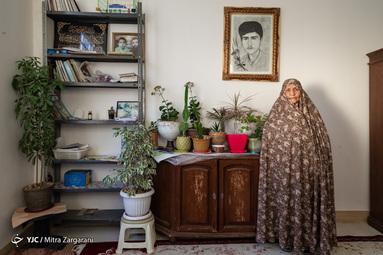 مادران بهشتی/ طاهره محمدی مادر شهید محمد زروندی (عالی نسب)