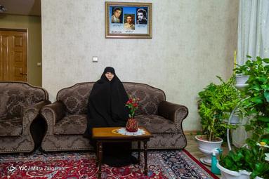 مادران بهشتی/ صدیقه دباغ نیشابوری مادر شهیدان عبدالمجید، عبدالحمید و دانیال غرویان