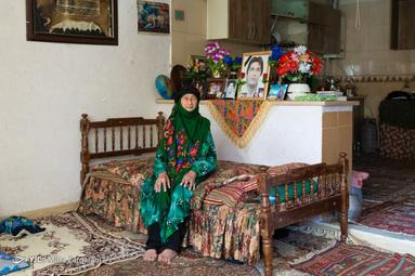 مادران بهشتی/ سیده بیگم رضوی همسر شهید سید موسی حسینی