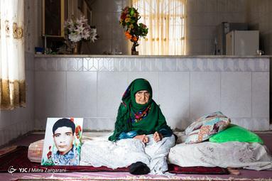 مادران بهشتی/ سیده شهربانو حسینی مادر شهید سید حسین حسینی فرزند سید ابراهیم