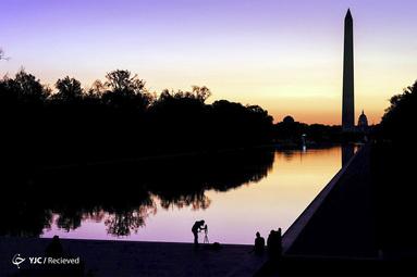 طلوع آفتاب در واشنگتن