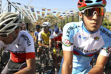 تور بینالمللی دوچرخه سواری ایران - آذربایجان
