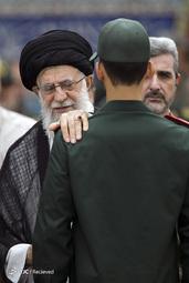مراسم دانش آموختگی دانشگاه امام حسین(ع) با حضور رهبرانقلاب