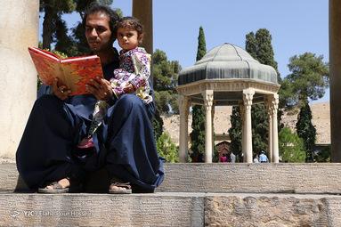 تفأل به حافظ شیرازی یارم چو قدح به دست گیرد بازار بتان شکست گیرد