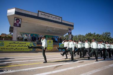 صبحگاه مشترک ناجا - همدان