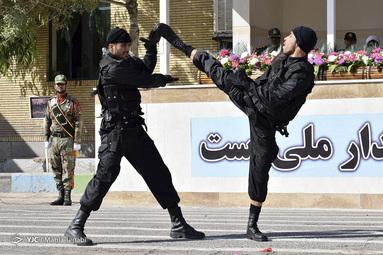 نمایش یگان ویژه ناجا کرمان