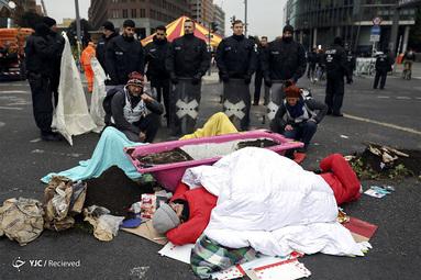 تظاهرات فعالان محیط زیست در آلمان