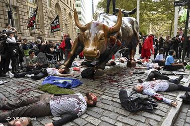 تظاهرات فعالان محیط زیست در آمریکا