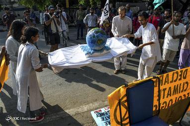 تظاهرات فعالان محیط زیست در هند