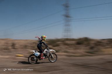 اولین دوره مسابقات موتور کراس بانوان ایران