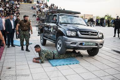 نمایش مهارتهای یگان ویژه نیروی انتظامی