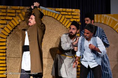 نمایش واگویههای علی گندابی