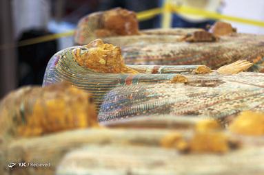 رونمایی از ۳۰ تابوت چوبی سه هزار ساله در مصر