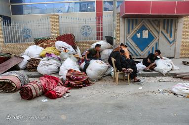 جمعآوری مواکب بعد از اربعین حسینی در کربلا