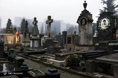 قبرستان یادبود در میلان - ایتالیا