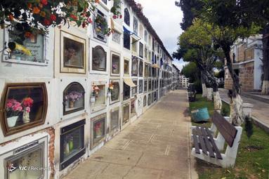 قبرستان اصلی شهر سوکر در بولیوی