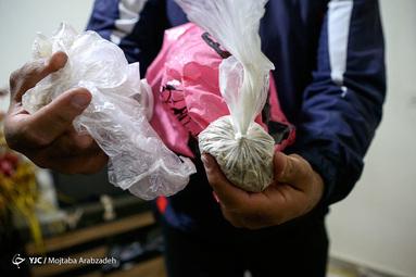 عملیات دستگیری شبانه توزیع کننده مواد مخدر