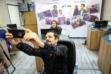 نشست خبری سریال پناه آخر