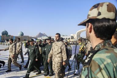 صبحگاه مشترک نیروهای مسلح در جمکران