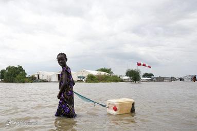 سیل در سودان جنوبی