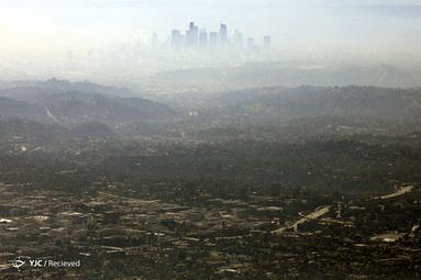 آلودگی در شهر لس آنجلس