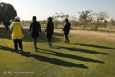 مسابقات گلف قهرمانی کشور بانوان