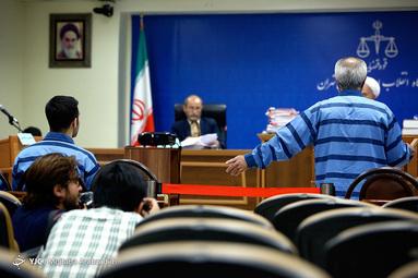 اولین جلسه علنی دادگاه تیمور عامری