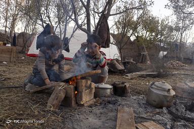زندگی پس از زلزله در منطقه سراب