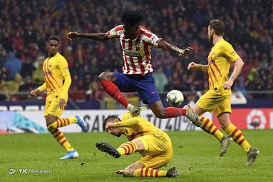 لالیگای اسپانیا/ اتلتیکو مادرید ۰ - بارسلونا ۱