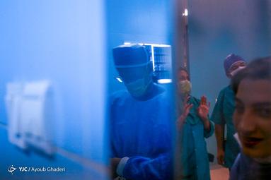 عمل جراحی ستون فقرات رضا رستمی ملی پوش کشتی در کیش