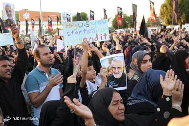 اجتماع مردم بندرعباس در سوگ سردار سپهبد شهید حاج قاسم سلیمانی