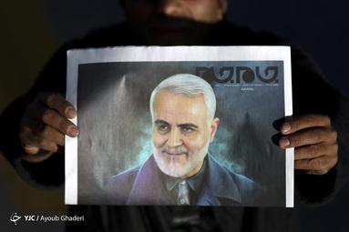 تشییع پیکر مطهر شهید سلیمانی در کرمان
