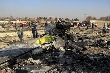سقوط هواپیمای اوکراینی