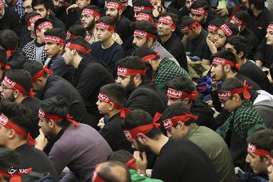 گرامیداشت قربانیان سانحه هوایی در مهدیه امام حسن مجتبی(ع)