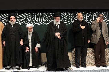 آخرین شب عزاداری فاطمیه ۱۴۴۱ در حسینیه امام خمینی(ره)