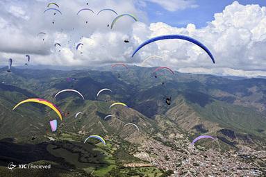 پاراگلایدر سواری در کلمبیا