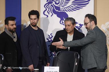 نشست خبری فیلم سینمایی «آن شب» در روز چهارم سیوهشتمین جشنواره فیلم فجر