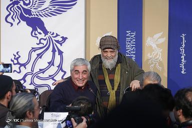 روز هفتم سیوهشتمین جشنواره فیلم فجر، نشست خبری فیلم «خروج» به کارگردانی ابراهیم حاتمی کیا