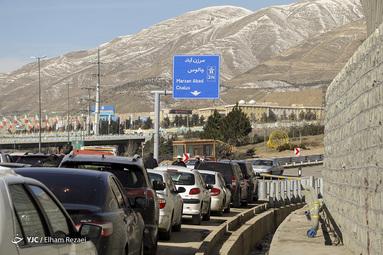 آغاز بهره برداری آزمایشی از قطعه اول آزاد راه تهران-شمال
