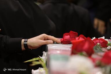 بزرگداشت چهلمین روز شهادت حاج قاسم سلیمانی و یارانش در حرم مطهر رضوی
