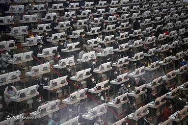 یک مرکز تجارت در شهر کونمینگ، استان یوننان، چین