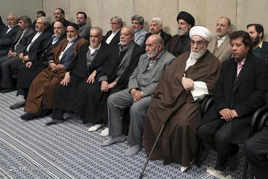 دیدار مداحان اهلبیت علیهمالسلام با رهبر معظم انقلاب