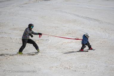 پیست اسکی تاریکدره همدان