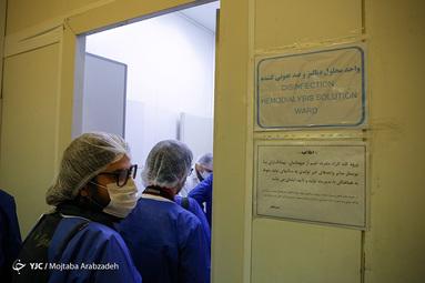افتتاح خط تولید ماسک و مواد ضد عفونی در کارخانههای هلال احمر